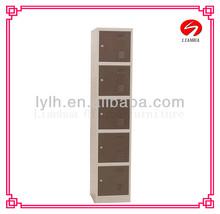 staff storage personal five layer locker