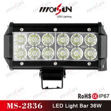 car accessories 36W 4x4 Off Road LED Light Bar