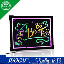 Alibaba new product led framed magnetic notice boards uk