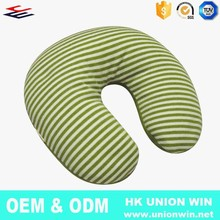 2015 Chinese Handmade mini Cute Funny Hypoallergenic Travel U Shaped Body Neck Roll Pillow With Logo