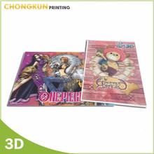 Hot sale Japanese lenticular new fashion 3d anime pictures