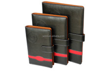 Hardcover Style and Pu leather PU Cover Material executive diary newly organizer notebook