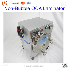 Non-Bubble OCA Laminator machine+ Vacuum pump, easy operation