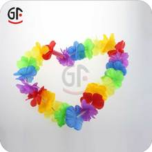 Promotion Gift Led Glow Artificial Flower Lei