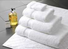 Top Quality White Cotton Hotel Bath Towel