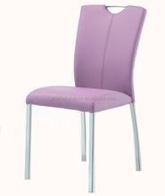 Elegant modern PVC cheap Milano dining chair