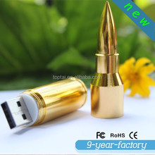 wholesale promotional gift Bullet shape usb flash drive