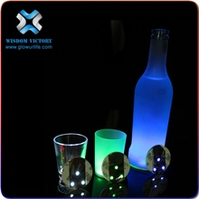 christmas Party Supplies China Wholesale Advertisement Gifts 3 Flash Modes Led LightingUV Light Sticker Coaster