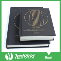 Custom offset thick hardcover books, low cost quality books printing publishers