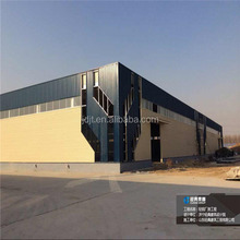 prefabricated low cost light steel structure warehouse