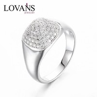 Fine Jewelry Fashion Factory Wholesale Wedding Ring With Shine Zircon Stone SRG009W