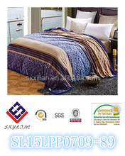 fashion products super soft polyester flannel blanket