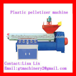 Plastics Waste Recycling and Pelletizing Machine