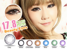 17.8mm beautiful big eyes cosmetic contact lenses wholesale color contact lens cheap color contacts