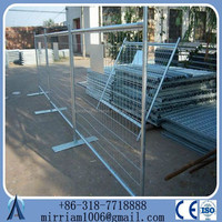 Anping factory manufactured 6ft*10ft high quality temporary fence canada standard