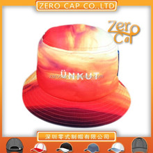 100%polyester bucket hat sublimation china supplier