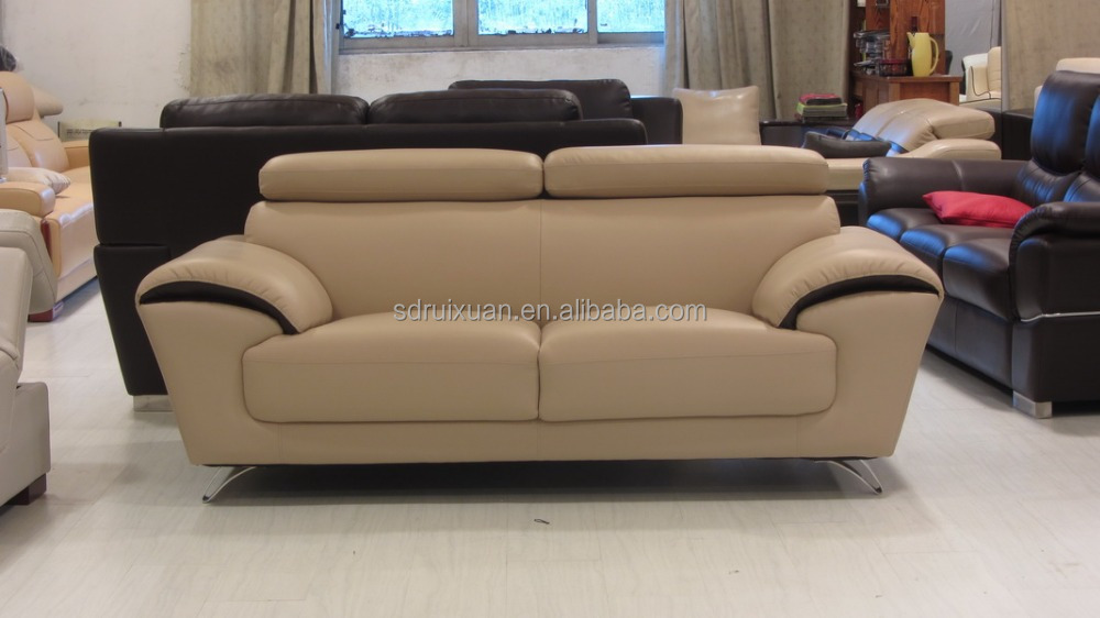 Modern Living Room Furniture Bonded Leather Sofa A118