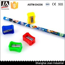 cheap factory plastic pencil sharpener