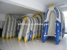 2015 rápida velocidad de personas 6 barco inflable del pvc