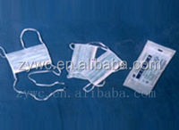 Nonwoven disposable 3 ply face mask/Surgical face mask/medical face Mask with Tie On