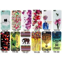 Colorful Loves IMD TPU Phone Case for iPhone 6 Plus IMD Soft TPU Cover