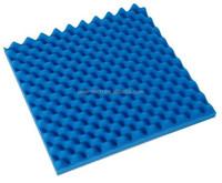 19.6*19.6*2 inch blue egg crate shape acoustic sponge foam