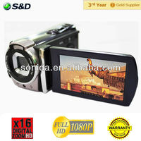 Hot Sale! 720P 12MP Interpolation 3.0 TFT LCD Display dvd video recorder HDV-602P