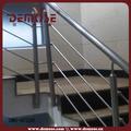 barandales para escaleras interiores de acero inoxidable