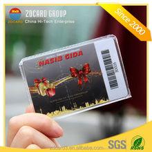 Professional Manufacturer plastic VIP PVC gift Card