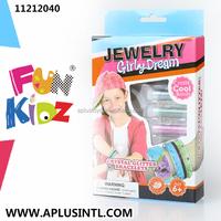 Kids craft DIY Girly Dream Crystal Bracelets Kits