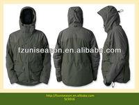 Green Waterproof Hunting Jacket