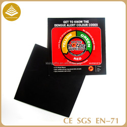 Promotional custom eco-friendly magnet paper fridge magnet