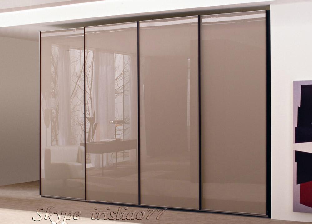 Design armoire chambre porte coulissante garde robe id de for Porte de chambre prix