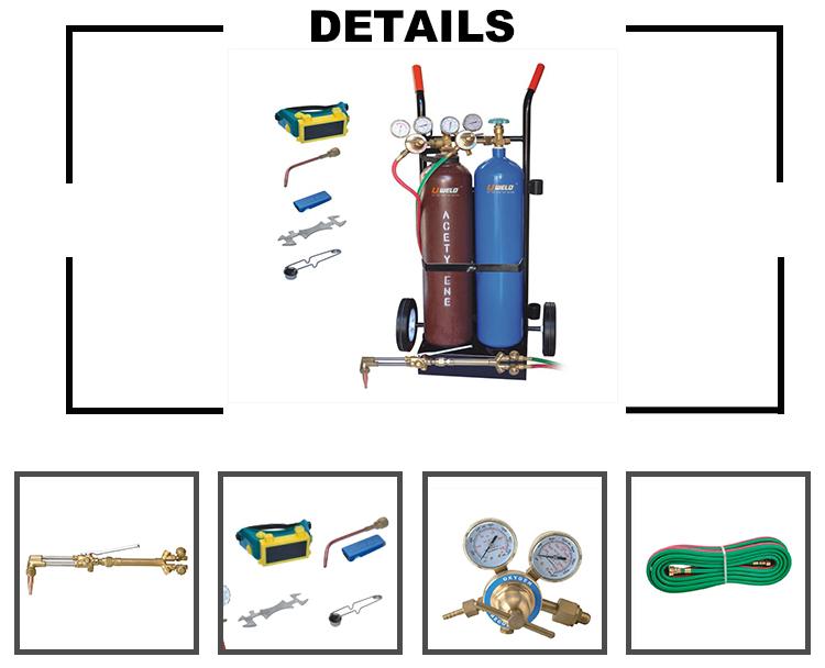 Gas Cutting Brazing Kit Brazing Solder Welding Set Oxy Acetylene