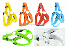 Flashing pet dog products solid color led dog harness fast deivery cheap price high quality best service