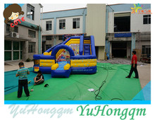 china factory inflatable flower theme slide ,bouncy slide for kids inflatable toy