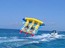 summer wholesale inflatable toys/inflatable flying fish banana boat