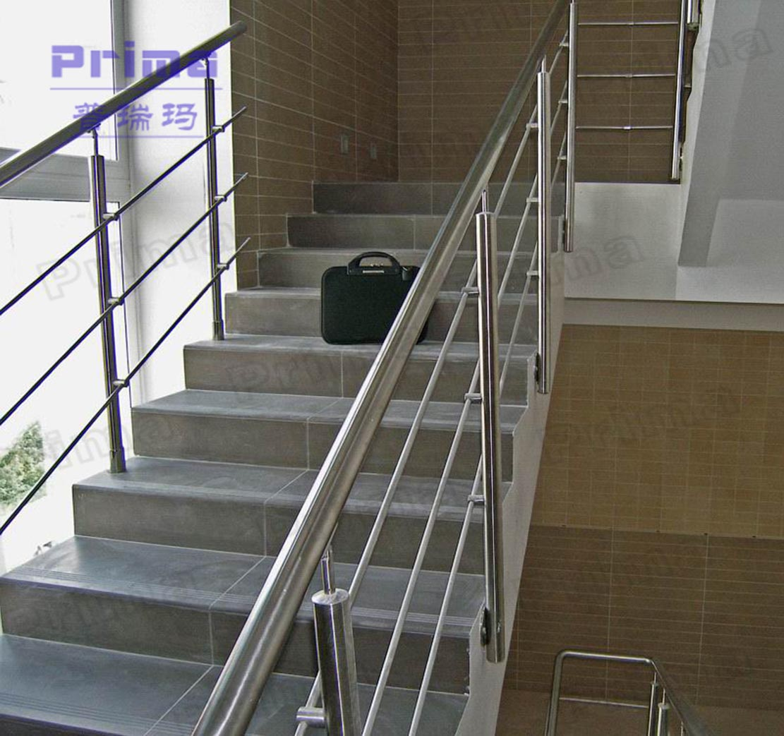 Modern interior stairs railing designs pr b2051 view - Interior stair railing contractors ...