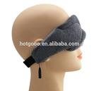 Made in China eyemask com fio para dormir / eyeshade fio para viagens / tapa-olho
