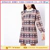 Woman clothing Spring 2015 For Desigual Dress And long sleeve women chiffon dress