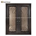 puerta principal con vidrio/puerta de entrada