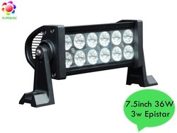 SUNWAC best selling Auto LED Light bar 7.5inch 36W 72W 120W 180W 240W 300W Epistar waterproof IP67 offroad Factory Light bar