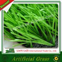 Playground artificial grass mat rubber