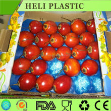 clear plastic fruit/apple/pear/vegetables packaging tray