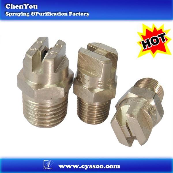 Stainless steel flat fan spray water v jet nozzle buy