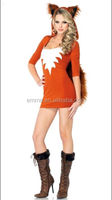 Halloween animal sexy movie with women costume sexy fox party costume BWG10087