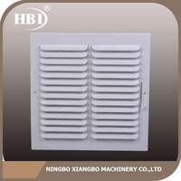 Great durability factory directly one way deflection steel air grille with damper