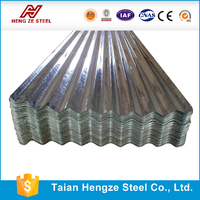 Shandong Color Metal Galvanized and galvalume zinc corrugated roofing iron steel sheet price
