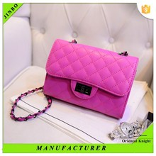Wholesale online shopping pu leather ladies shoulder bag in alibaba china