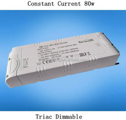 1060&1450&1860&2280ma Triac Dimmable LED 80w Switching Power Supply FOR UL